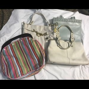 4 Purses: Coach, Dooney & Burke, Cole Haan Vintage